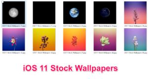 IOS 11 Stock Wallpapers GM Leaks