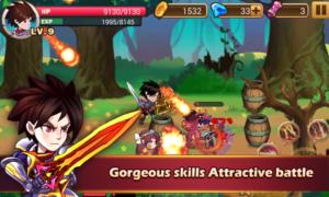Brave Fighter Demon Revenge v2.1.2 Mod apk