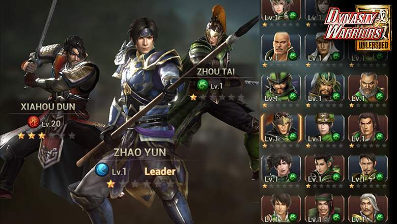 Dynasty Warriors: Unleashed v1.0.6.7 mod apk