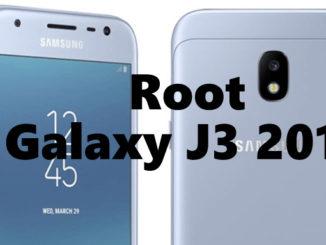 Galaxy J3 2017 root