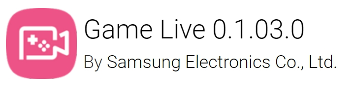 Game Live Apk from Samsung