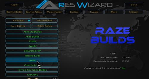Raze Reborn Builds hack