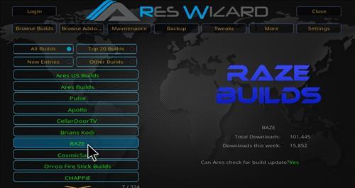 Raze Reborn Builds hack