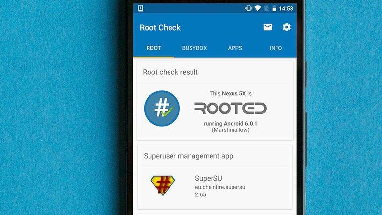 Root-checker-app
