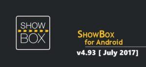 Latest ShowBox Apk v4.93