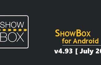 Latest ShowBox Apk v493