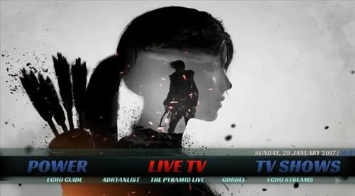 Latest Kodi Build Tomb Raider