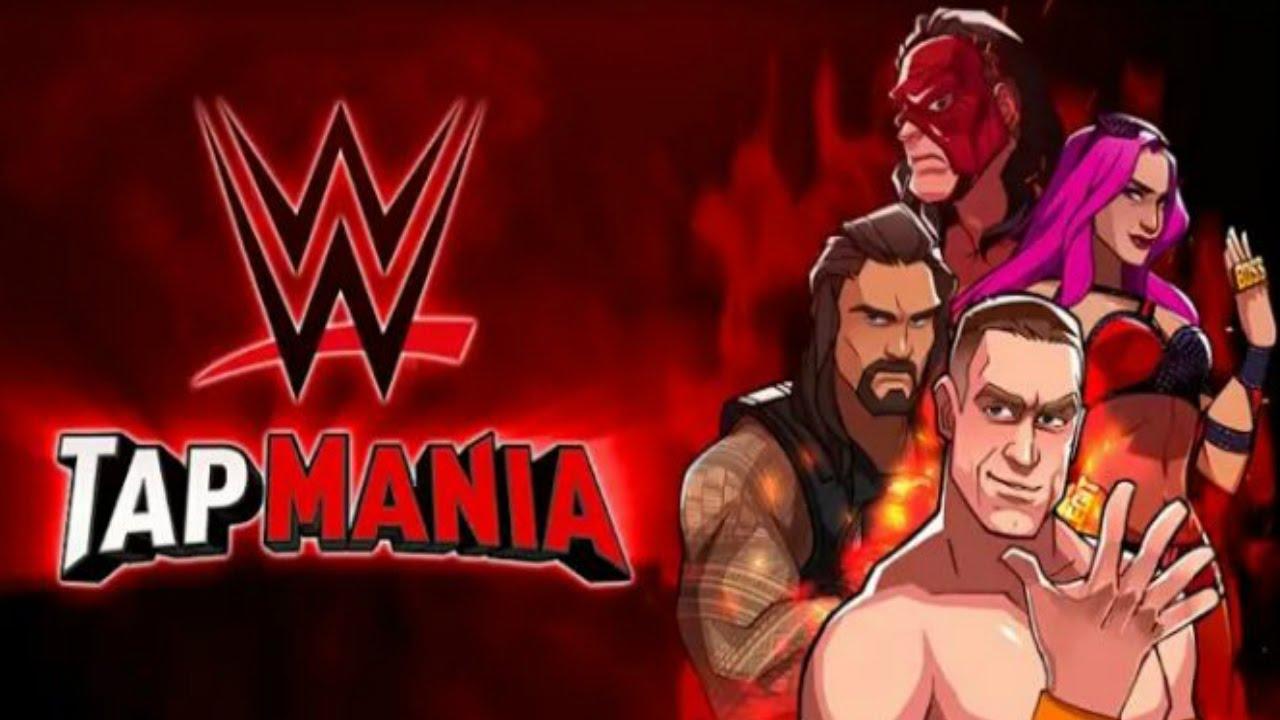 WWE-Tap-mania-Mod-Apk