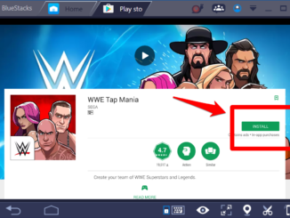 WWE Tap Mania for Windows 10 PC