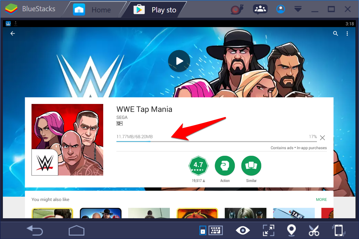 WWE-Tap-mania-Windows-10-PC-3