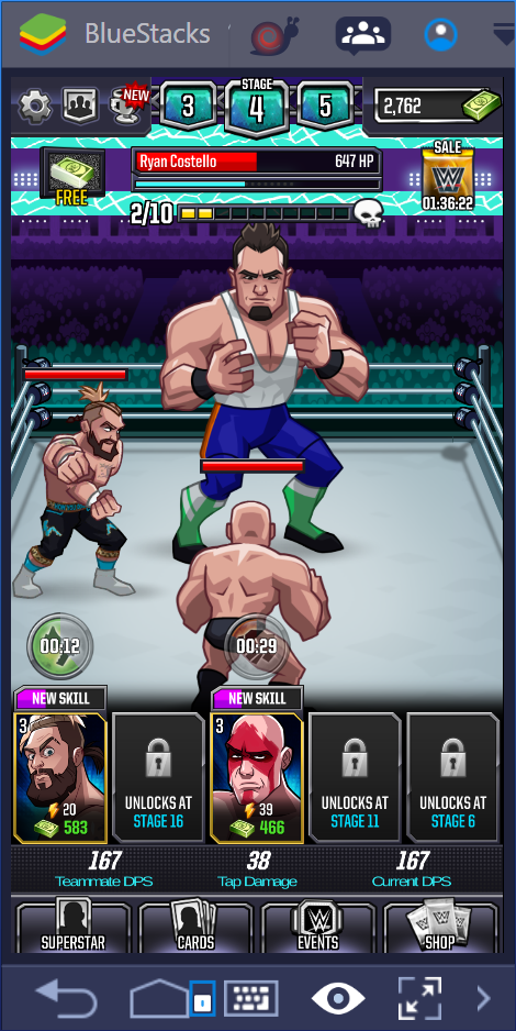 download wwe tap mania mod apk android 1