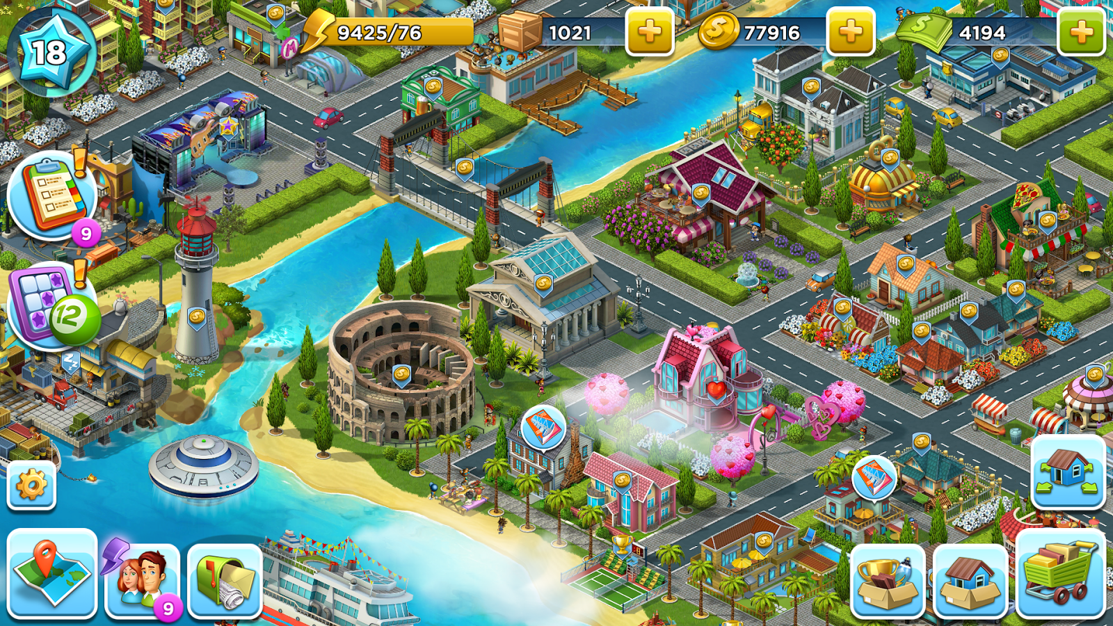 SuperCity: Build a Story v1.10.0 Mod Apk | AxeeTech