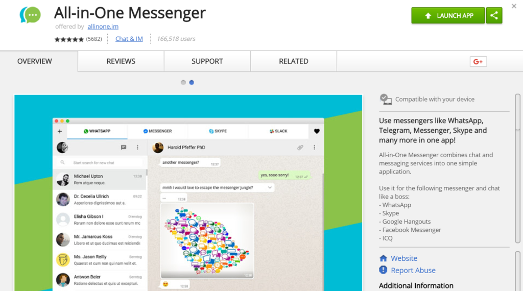 All-in-One Messenger v1.1.0