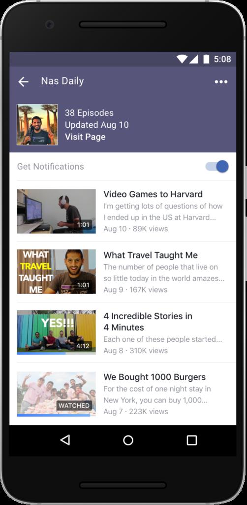 Facebook Watch Apk App