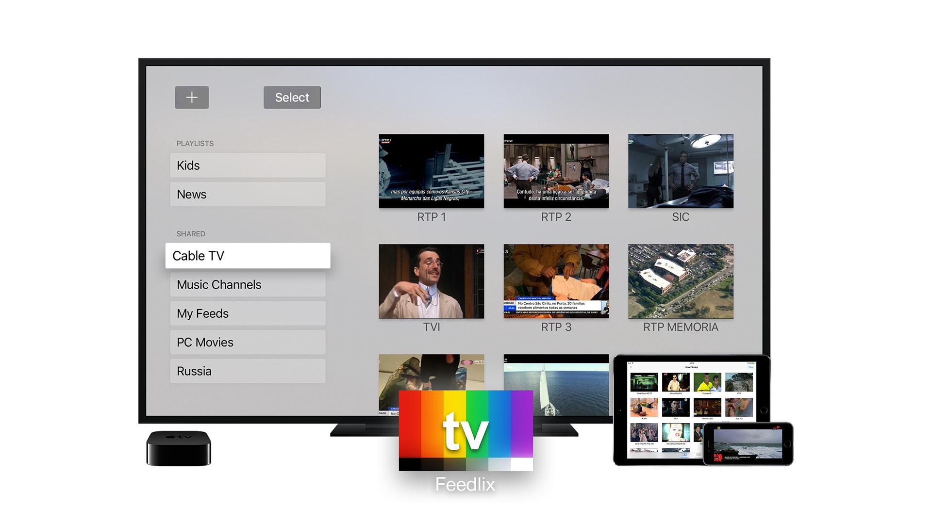 Feedlix-iptv-apple-tv