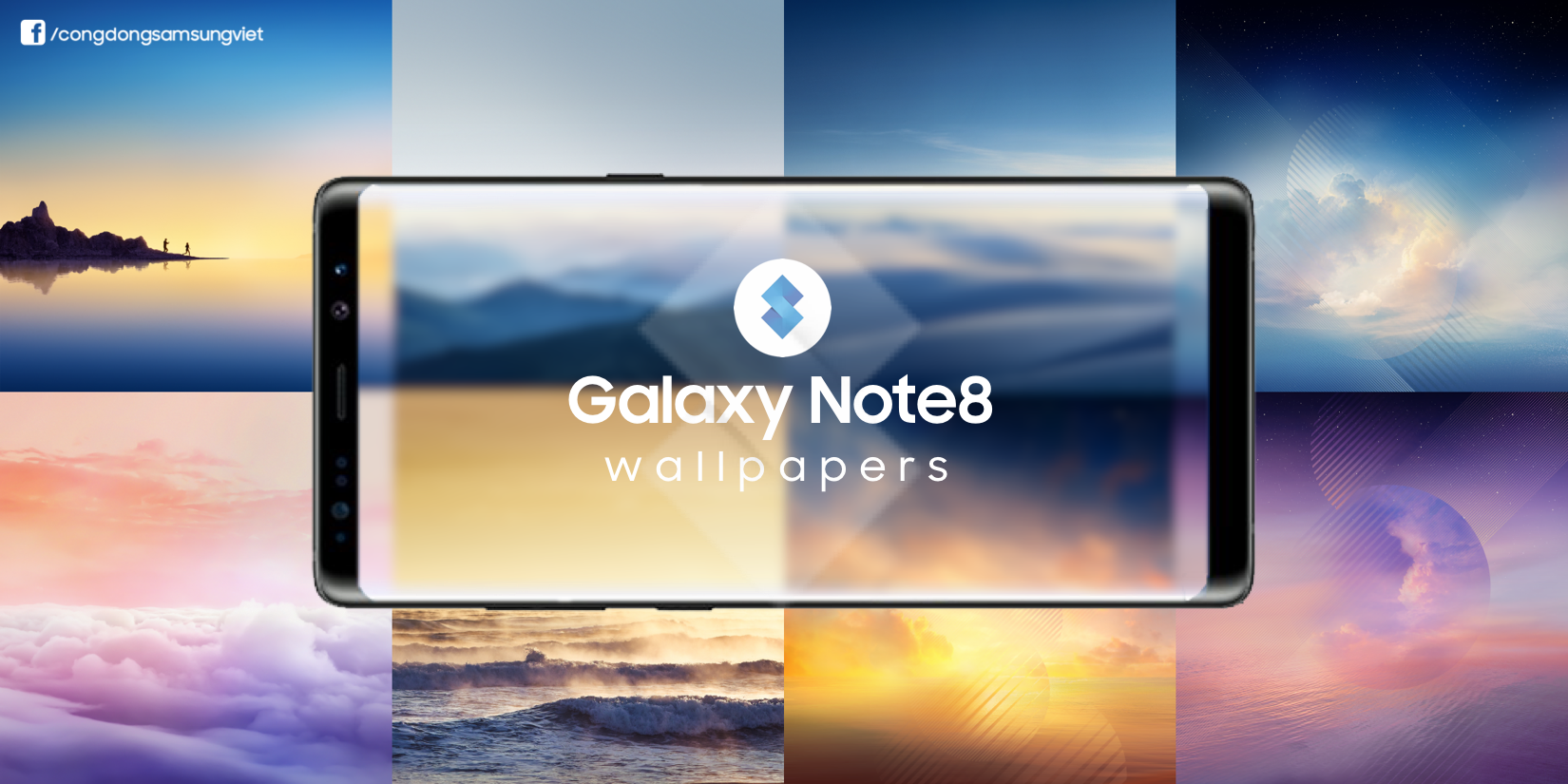 Download Samsung Galaxy Note 8 Stock Wallpapers. [ All 13 QHD]