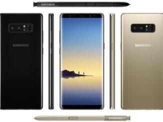 Samsung Galaxy Note 8 Press Renders leaked.