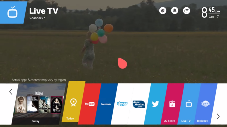Best IPTV apps for LG Smart TV 2017