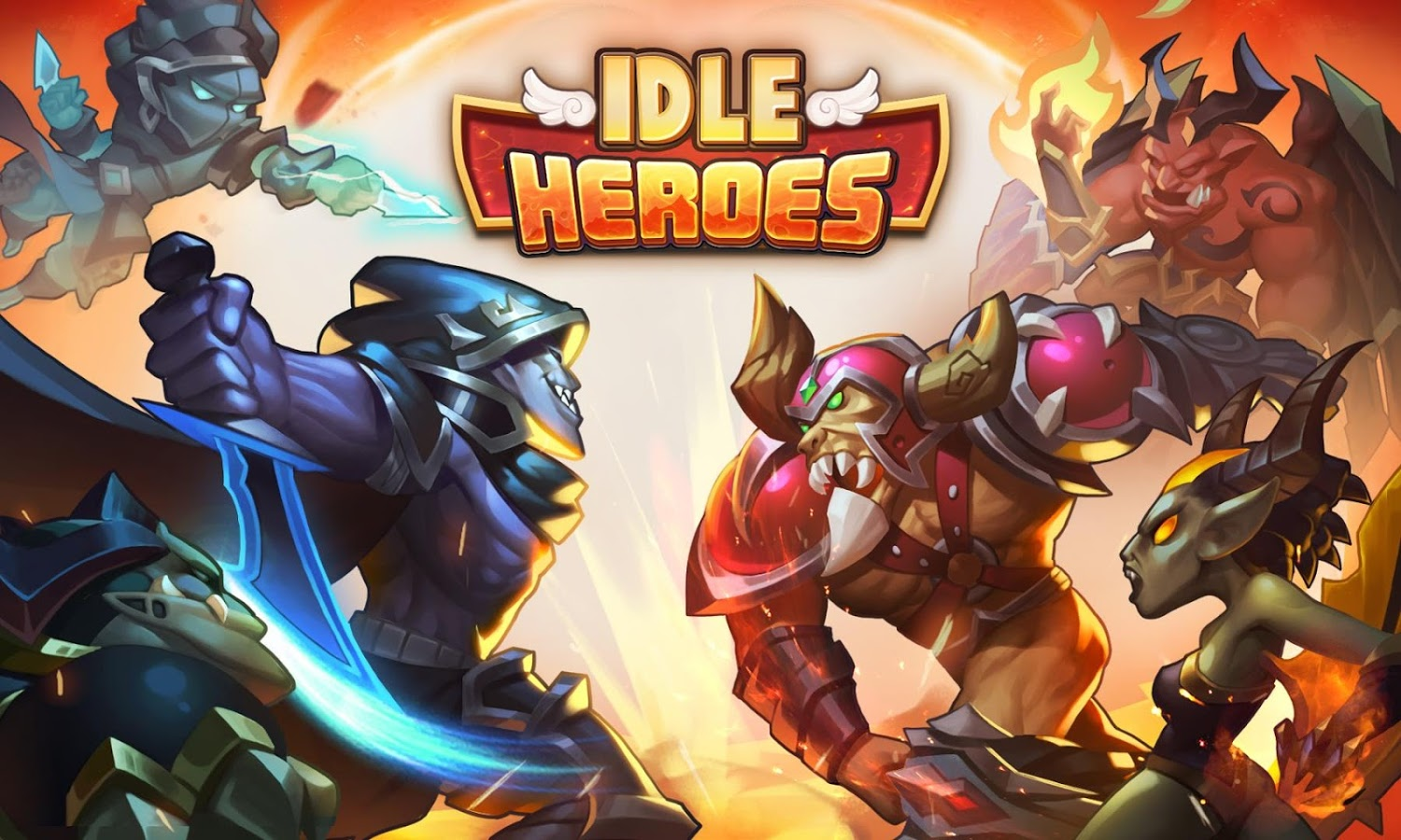 Idle Heroes V1 9 0 Mod Apk With Unlimited Coins Gems