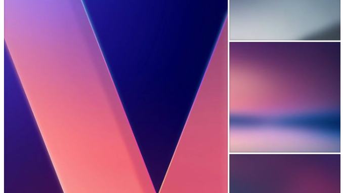 LG V30 Stock Wallpapers