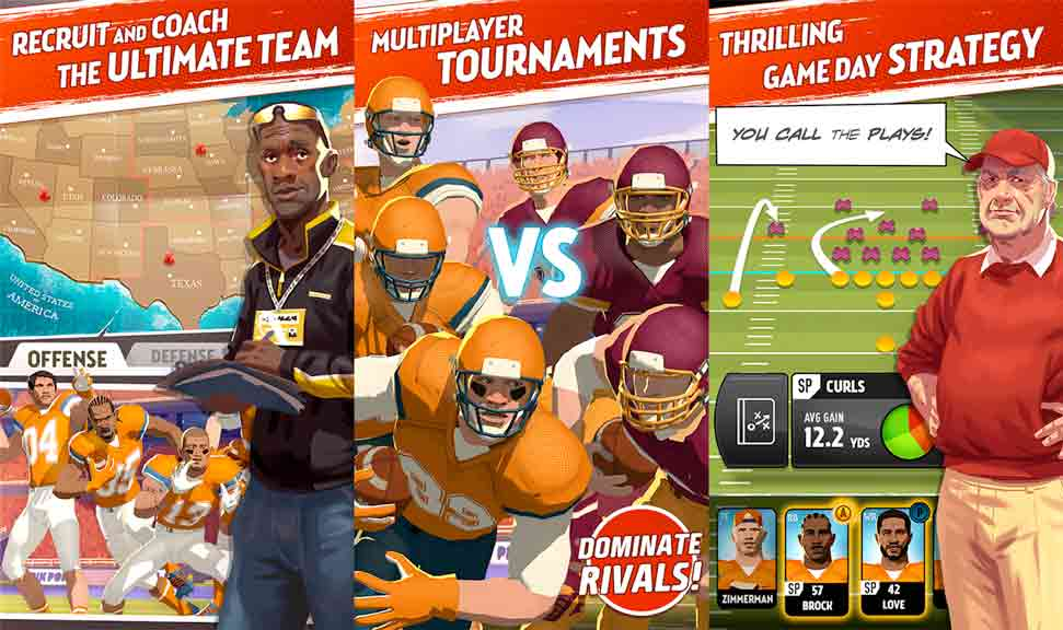 Rival Stars College Football mod apk