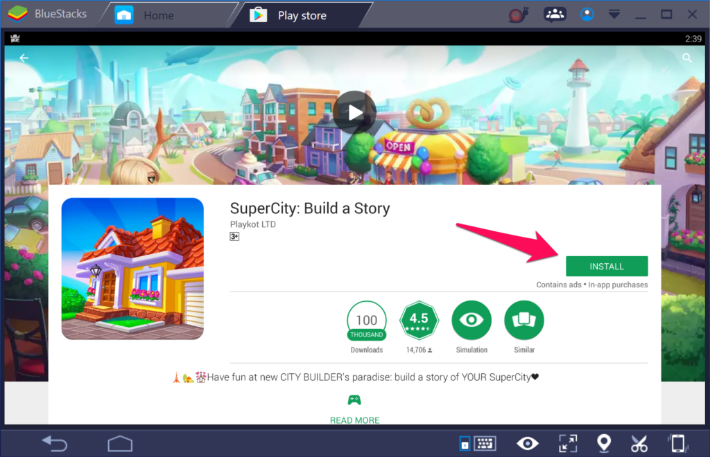 SuperCity: Build a Story for Windows 10 PC.