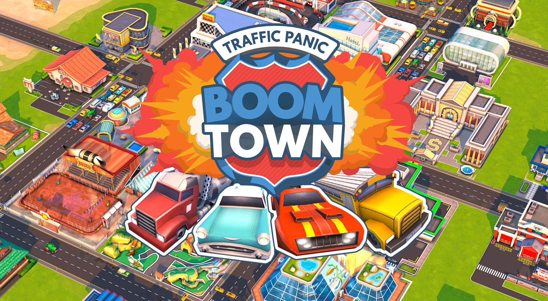 Trafic-panic-boom-town-mod-apk