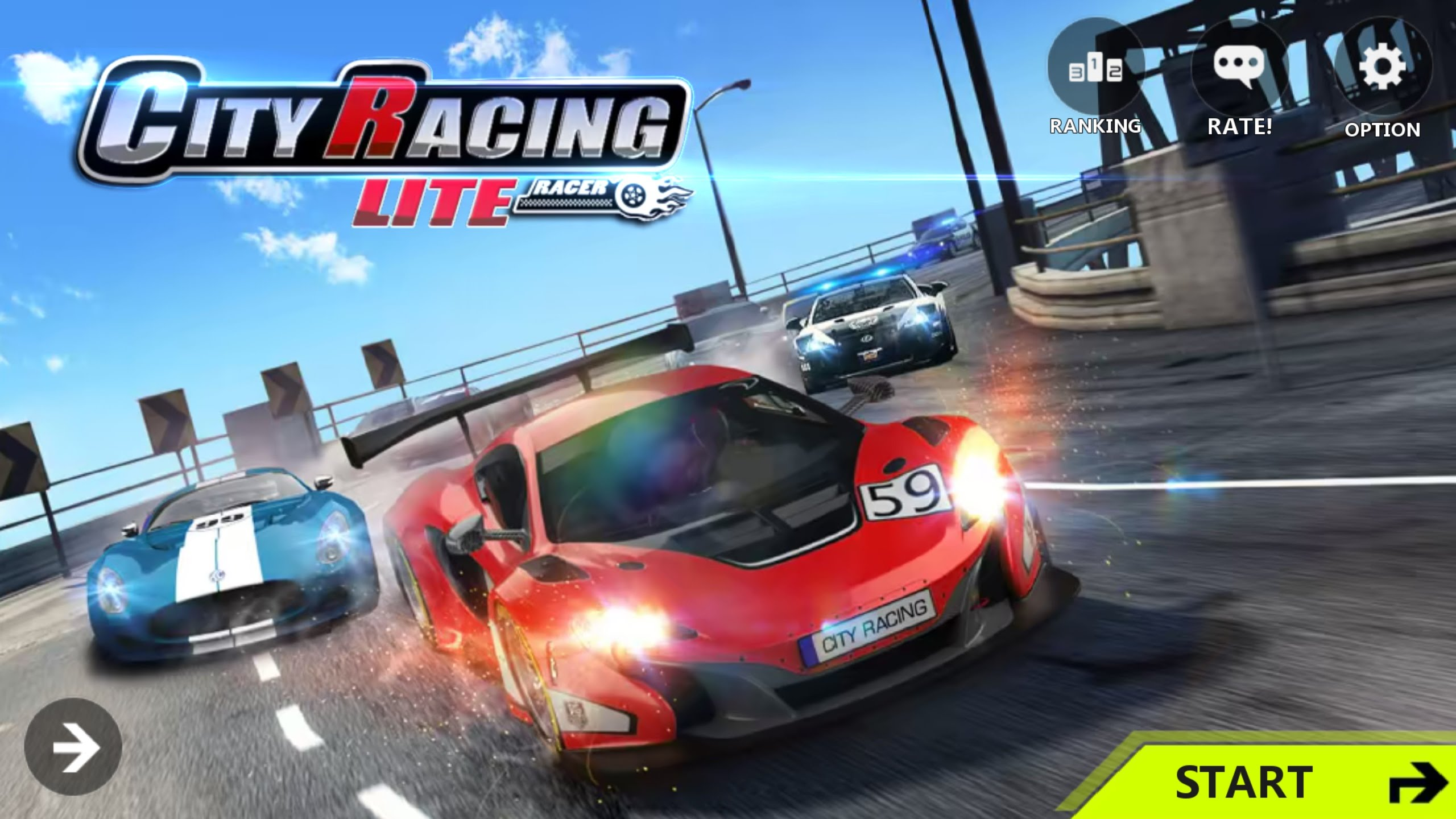 City Racing Lite v1.7.133 Mod Apk | AxeeTech
