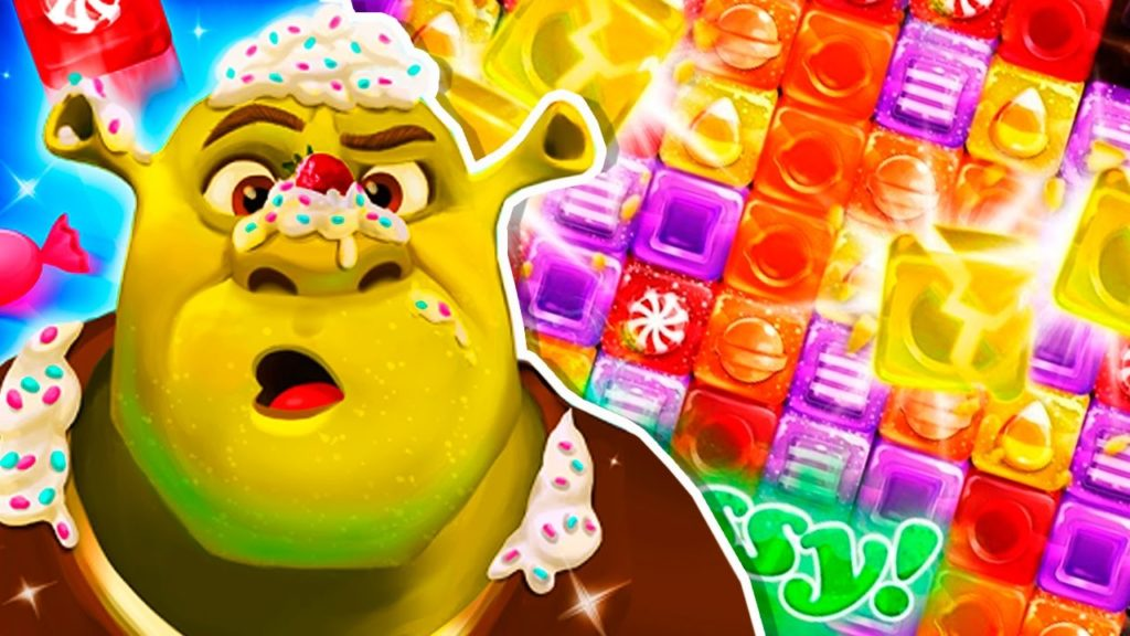 Shrek sugar fever mod apk hack