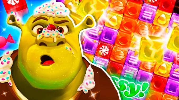 Shrek sugar fever mod apk hack