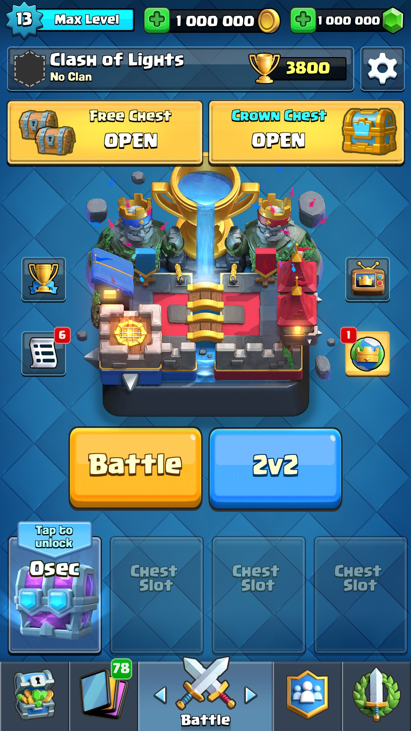 clash royale private server online download