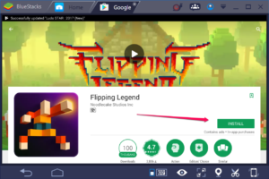 Flipping Legend for PC Windows 10