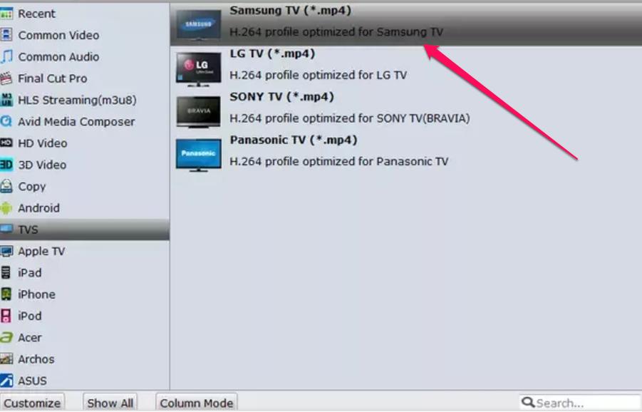 MKV-Samsung-TV-Format