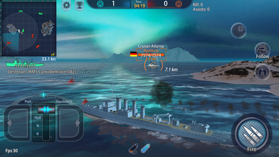 Warship Rising - 10 vs 10 Real-Time Esport Battle hack