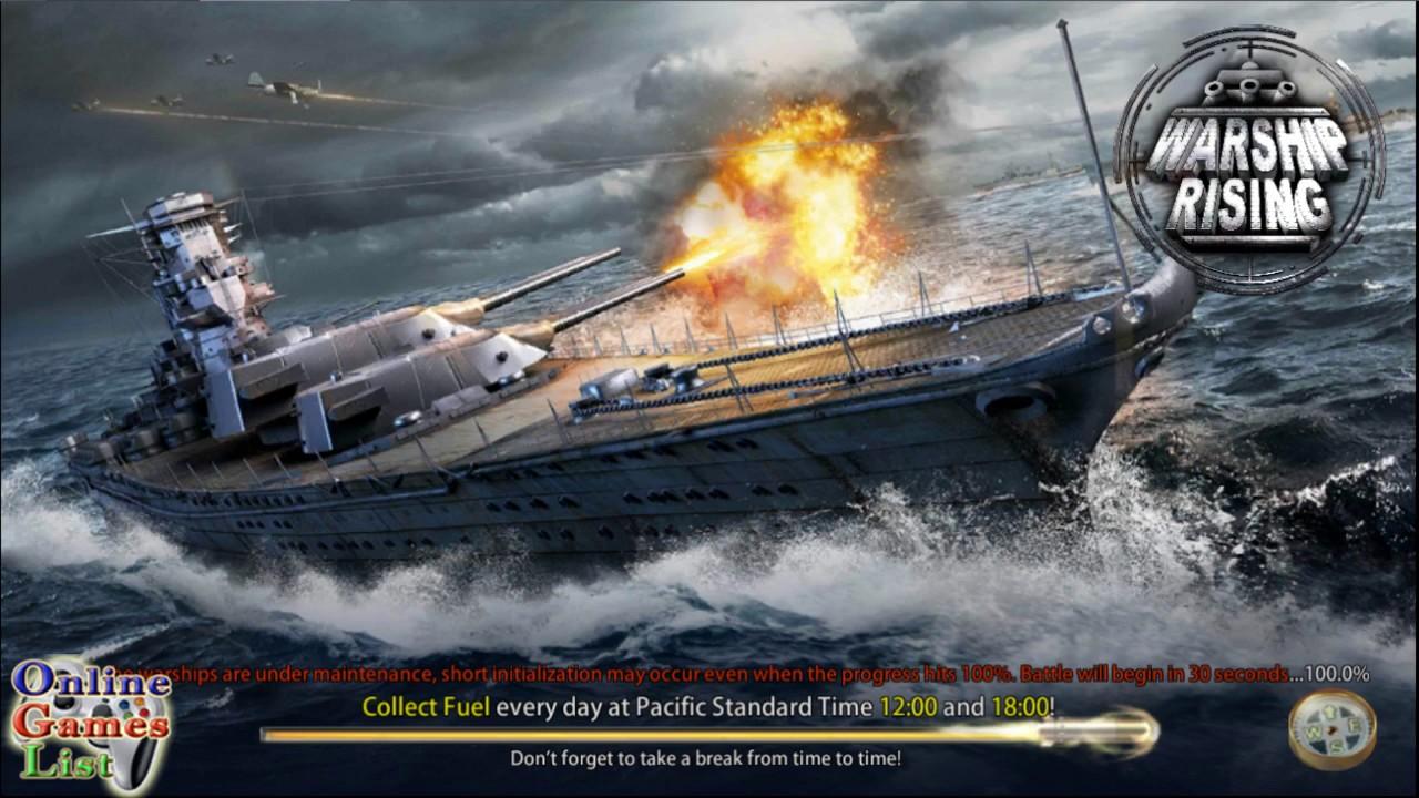 Warship-rising-mod-apk