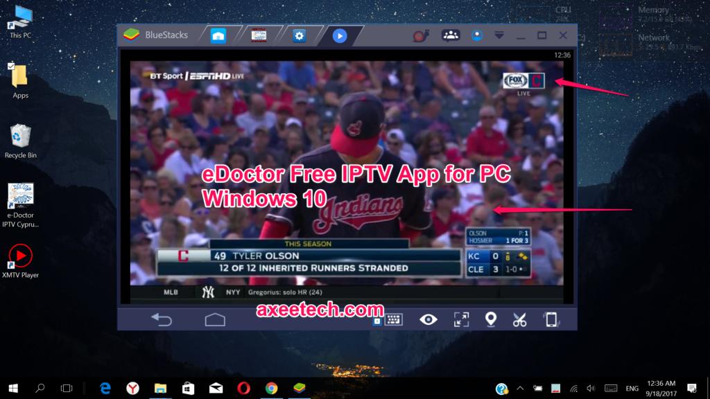 eDoctor Free IPTV app for PC Windows 10