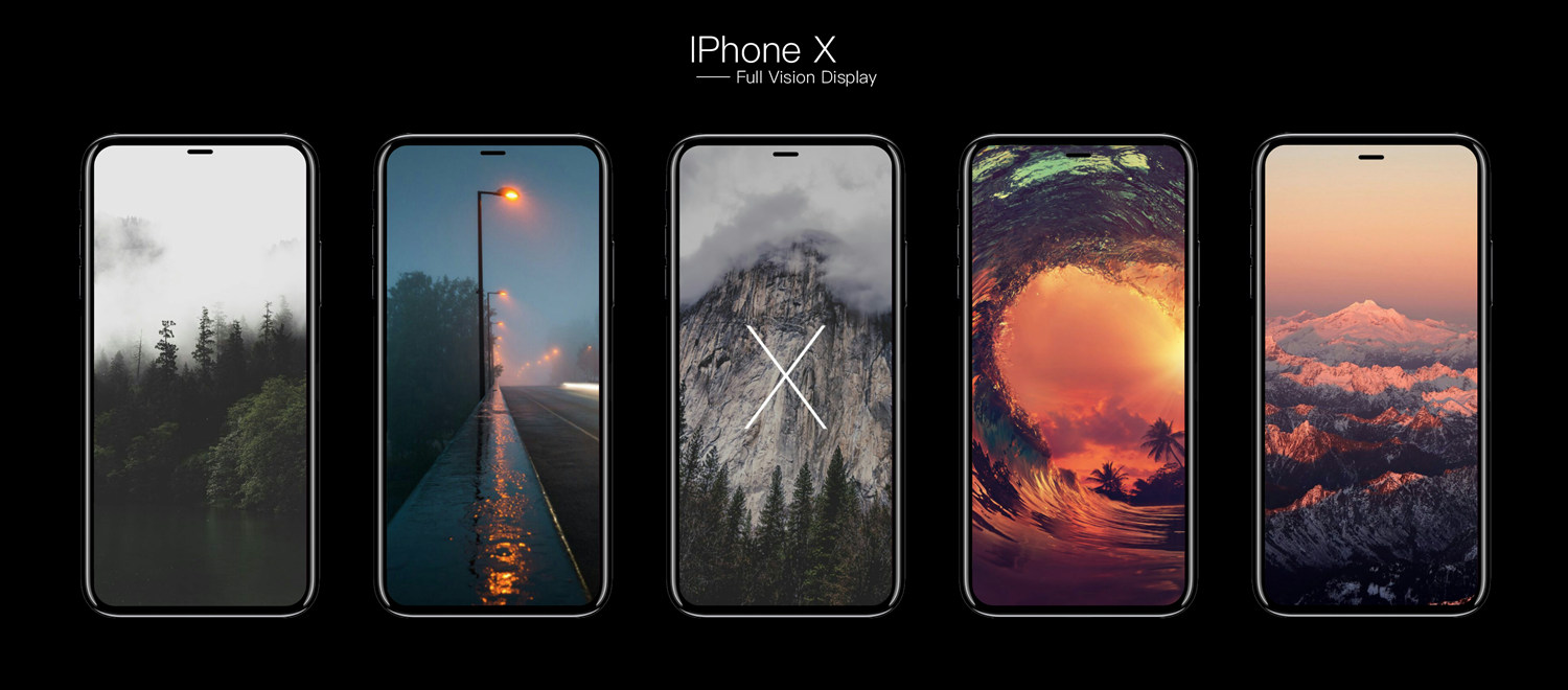 Download iPhone 8, iPhone 8 Plus and iPhone X Stock Wallpapers. [All 10 Full HD]