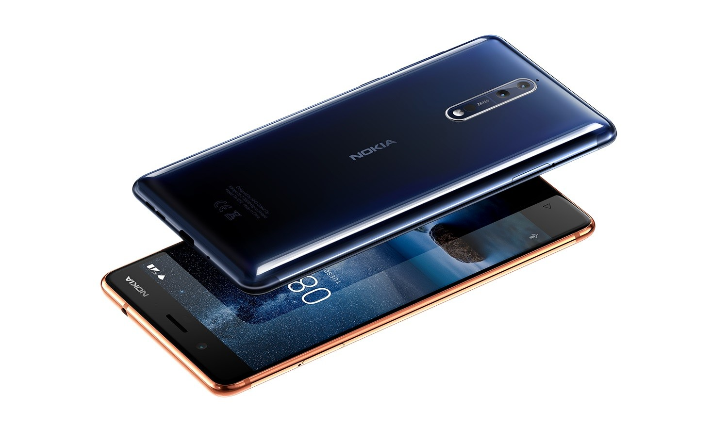 Nokia 8 is coming in October,with 6GB RAM and 128GB MEMORY