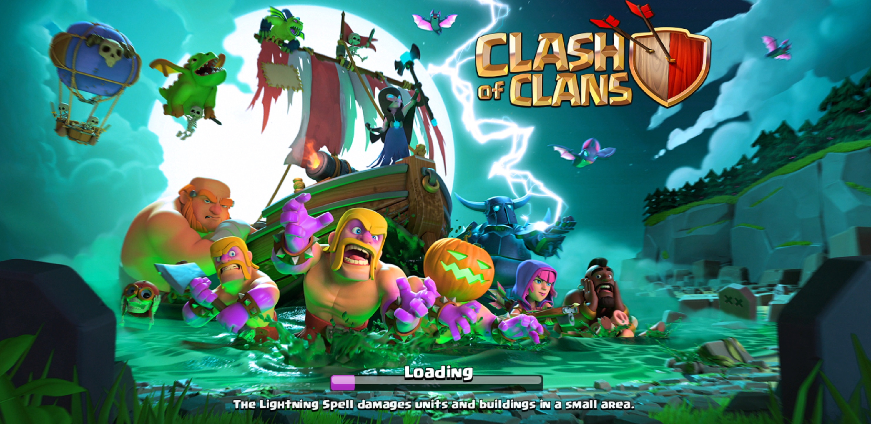 Clash of Clans v9.256.17 Mod Apk [October 2017] | AxeeTech