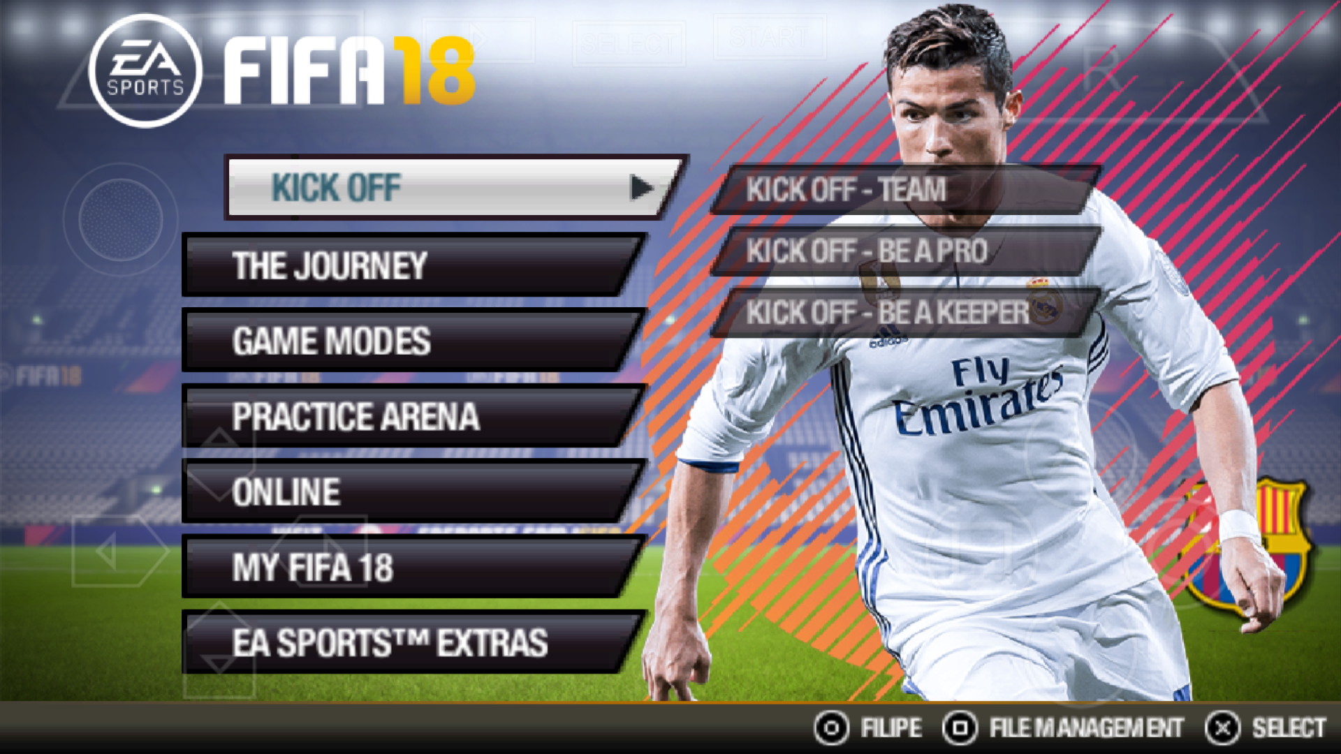 how to set ultra attacking fifa 18