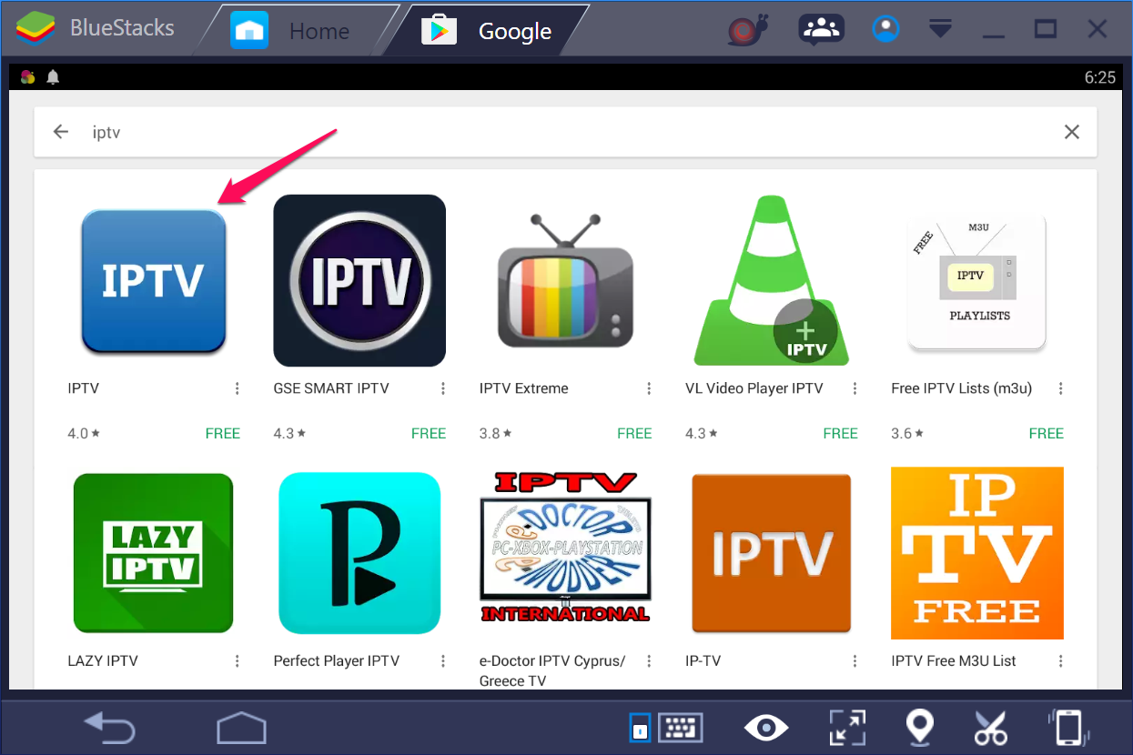 lazy iptv download for pc