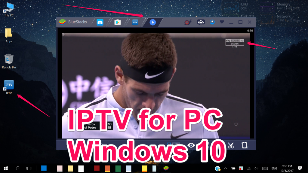 IPTV for PC Windows 1087XPVista Mac
