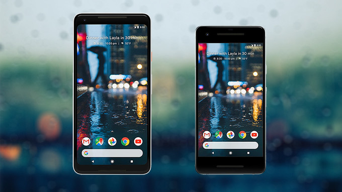 Download Google Pixel 2 and Pixel 2 XL Stock Wallpapers.