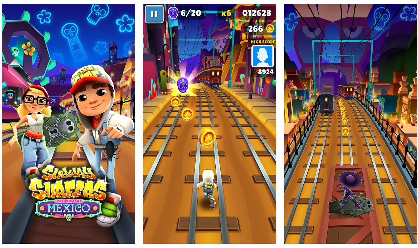 subway surfers mod game unlimited coins shopping and key free download