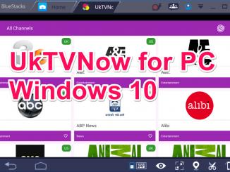 UKTvNow for PC Windows 10