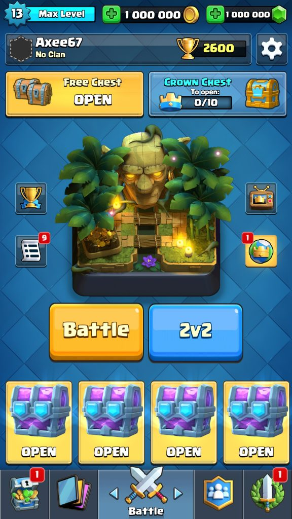 how to create your own clash royale card for android