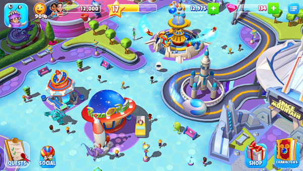 Disney Magic Kingdoms: Build Your Own Magical Park v2.5.0i mod apk