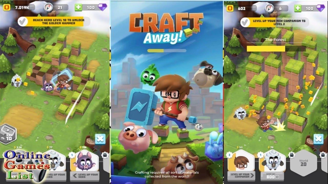 Craft_Away_Idle_Minning_mod_apk