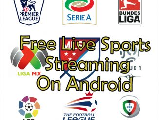 Free Live Sports Streaming Apps Android