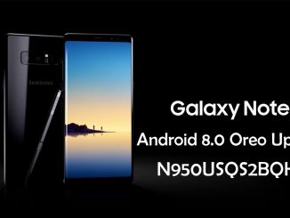 Samsung Galaxy Note 8 Android Oreo Update N950USQS2BQK2